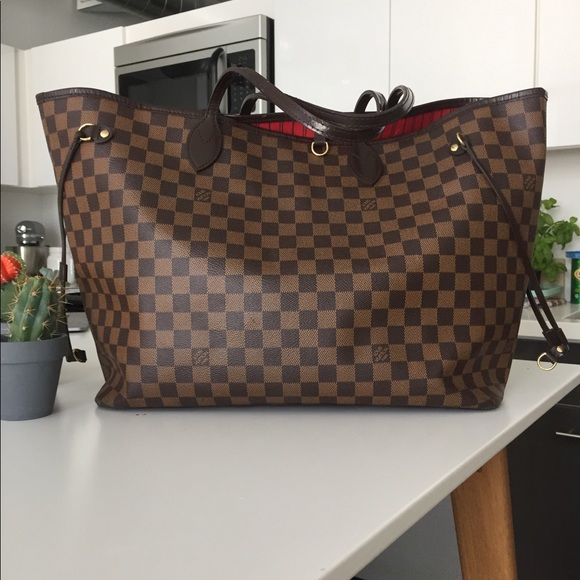 800d0003b0ef Louis Vuitton Handbags - Louis Vuitton LV Neverfull GM Damier Ebene